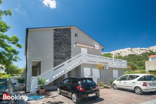 Amplio apartamento en Baška ¡Con vistas!