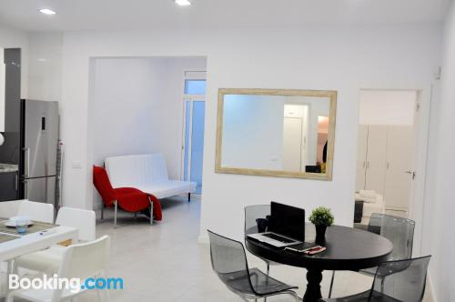 Two room home in Hospitalet de Llobregat with terrace