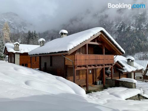 In Alagna Valsesia in superb location