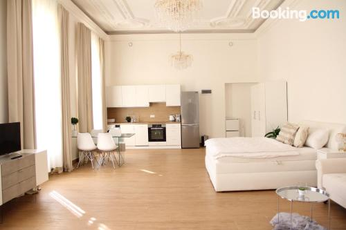 1 bedroom apartment home in Brno with internet.