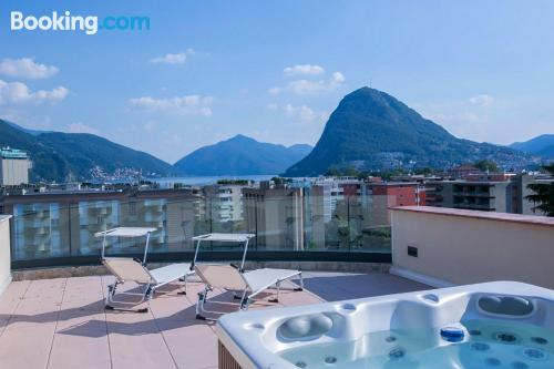 Home in Lugano. Enjoy your terrace