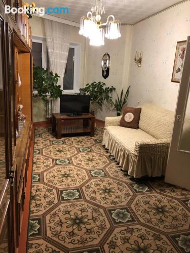 3 rooms in downtown in Kirovsk.