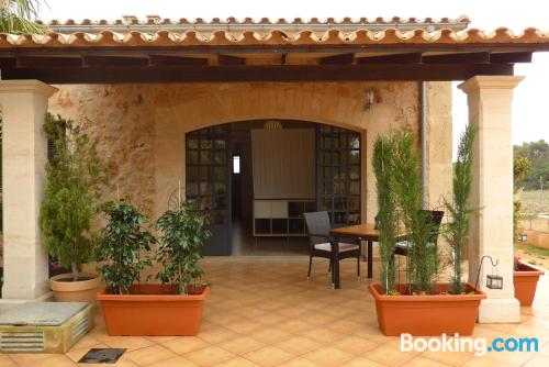 Spacious apartment in Llucmajor with pool.