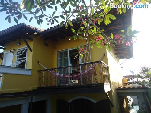 One bedroom apartment in Cabo Frio. Good choice for 6 or more