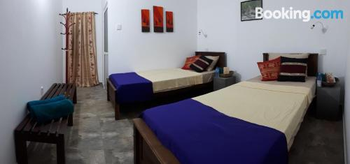Apartment for 2 people in Negombo with internet
