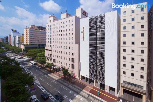 Apartamento en Fukuoka para dos personas.
