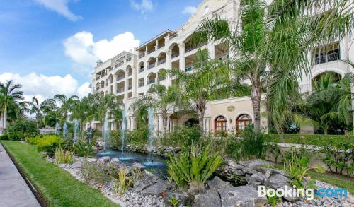 One bedroom apartment in Cozumel with air