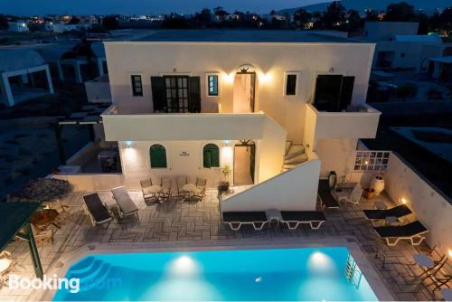 Home in Perissa. For two people