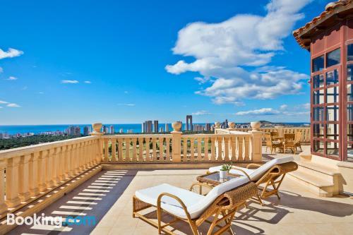 Apartamento con terraza para parejas