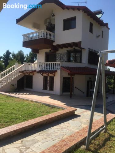 Comfortable place in Siviri with terrace