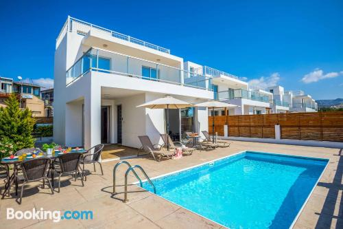 Apartment with terrace. Enjoy your pool in Peyia!