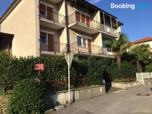Place for 2 people in Izola. Small!