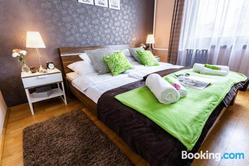 1 bedroom apartment in Budapest. Kid friendly home!