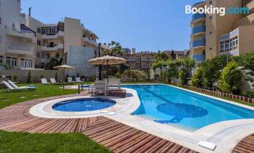 Home with terrace and swimming pool