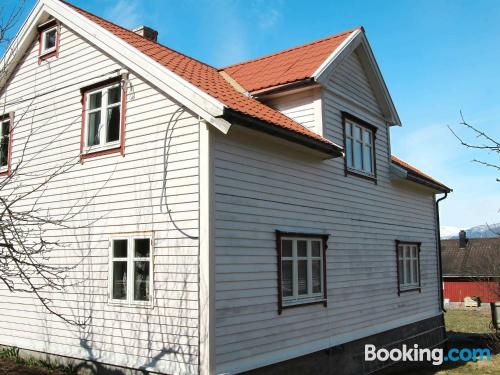 Home in Fresvik. Convenient for families