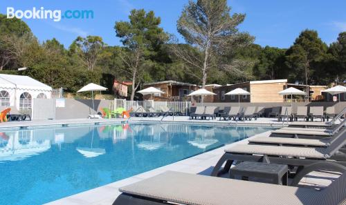 Place for two people in Montagnac with terrace and pool.
