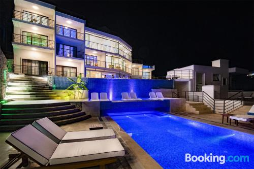 Home for 2 with pool and terrace