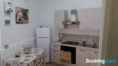 Ideal, two bedrooms. Comfortable!