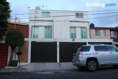 Apartamento de una habitación en Ciudad de Mexico. ¡pequeño!.