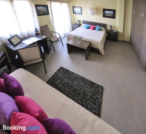 Apartamento con terraza en Corfu.