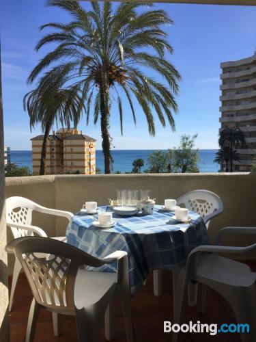 Place for two in superb location of Benalmadena