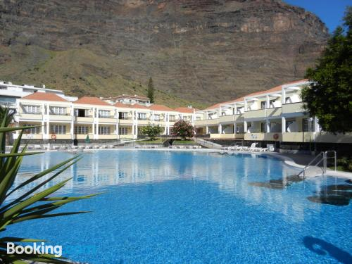 Swimming pool and internet home in Valle Gran Rey. For two