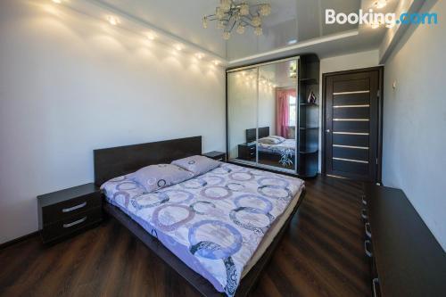 Apartamento de 44m2 en Mogilev con calefacción