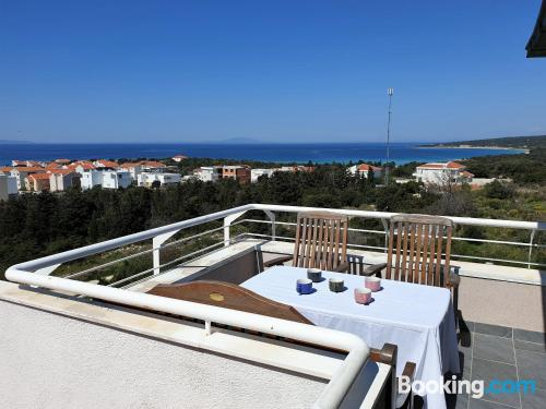Two bedroom apartment in Novalja. Great for groups