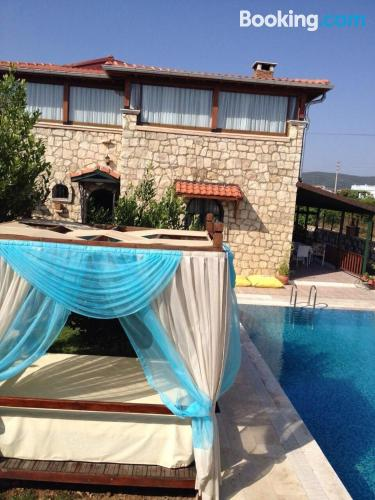 Apartment in Didim with pool.