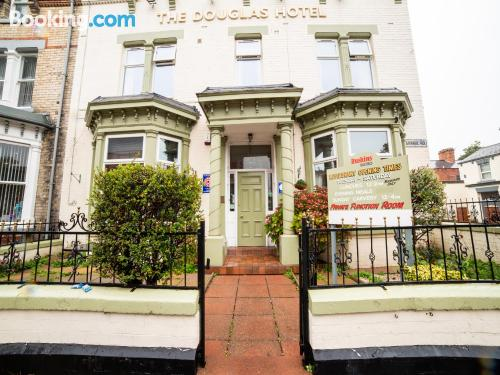 Apartment with internet in Hartlepool.