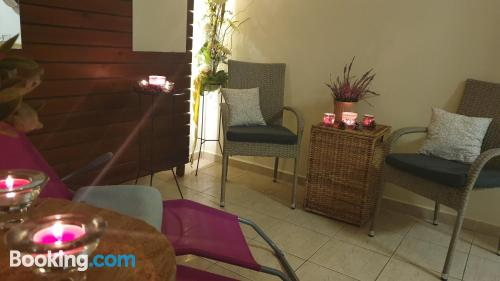 Little place. Enjoy your terrace