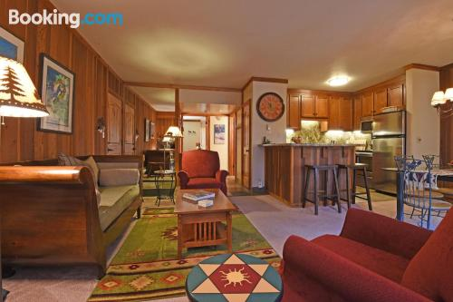 Sleep in Olympic Valley with 2 bedrooms.