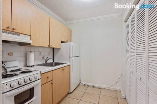 Apartamento para dos personas con calefacción y wifi.
