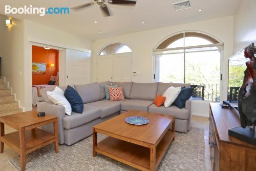 Apartamento para grupos en Playa Hermosa.