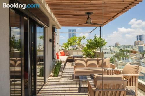 Homey place with terrace.