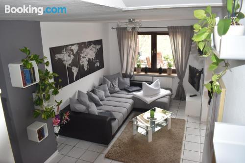 Losheim apartment with terrace.