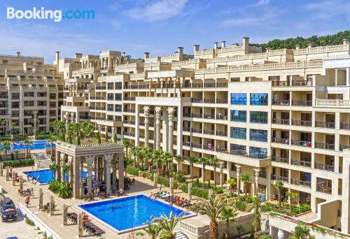 Place in Golden Sands with terrace