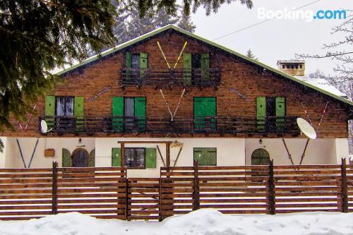 Apartment in Timisu de sus with heat