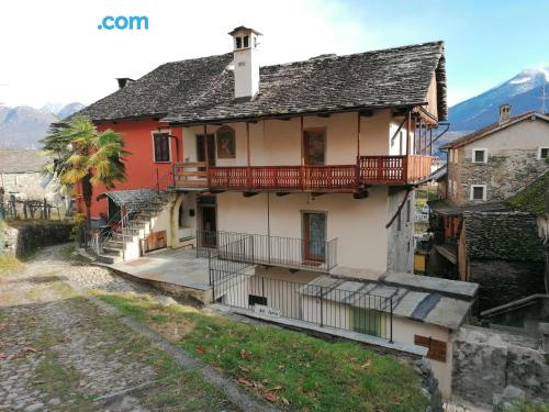 Apartment with terrace in Domodossola.