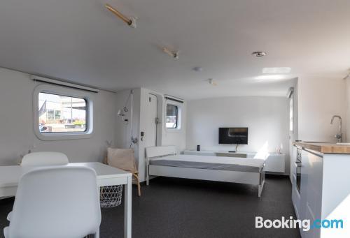 Apartamento de una habitación en buena ubicación con wifi.