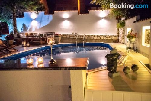 Perfect for two! Enjoy your terrace