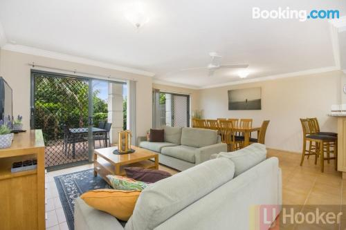 Apartment in Yamba with swimming pool.