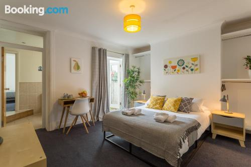 Apartment for couples in Brighton & Hove with wifi.