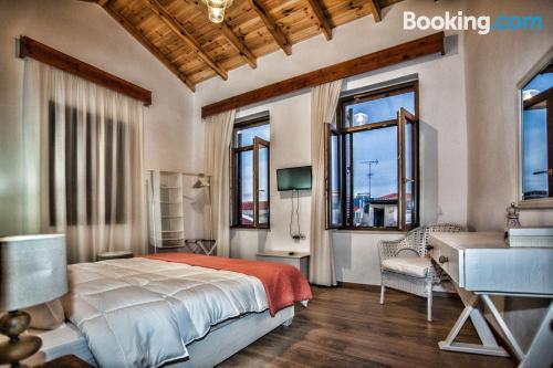 Apartamento para familias en Rethymno con vistas y wifi