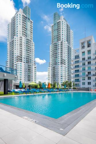 Place in Miami with terrace