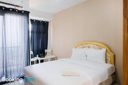 Apartment with swimming pool in Tangerang.