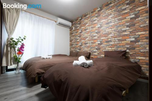 Comfy apartment in Osaka. Convenient for groups