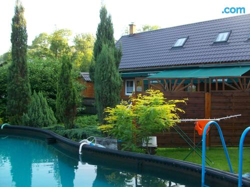 Place with swimming pool for two
