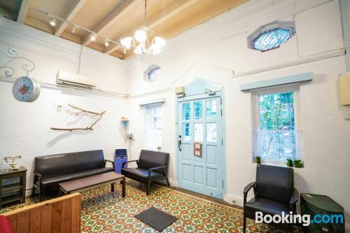 Apartamento con aire acondicionado perfecto para familias.