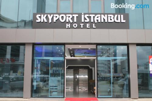 Stay in Istanbul. Perfect!